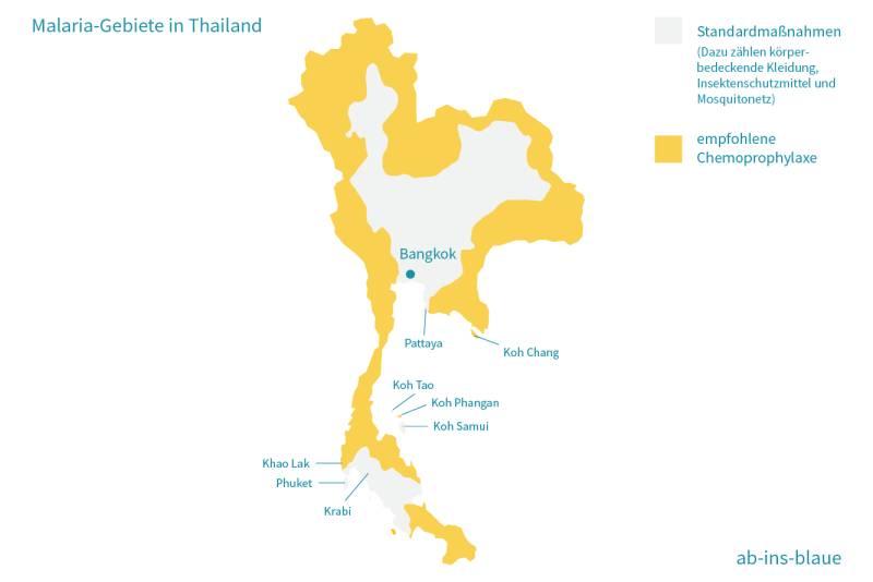 Malaria Kambodscha Karte.Thailand Impfungen Krankheiten Schutz
